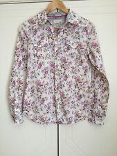 ESPIRIT spring floral women's light weight button up shirt sz s/m