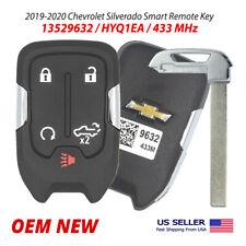 2019-2020 Chevrolet Silverado Smart Remote Key 5 Button 13529632 13508398 HYQ1EA