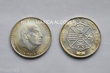 MONEDA DE 100 pesetas 1966 (66) Franco plata SC /  SPAIN KM#797 UNC