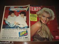 RIVISTA TEMPO 1955/47=MARILYN MONROE COVER=GINA LOLLOBRIGIDA=VERA MOLNAR=