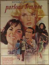 PARLONS FEMMES affiche originale film 120x160 cm MASCII 1964