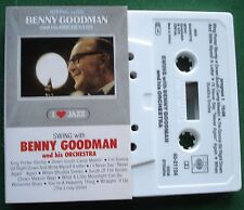 CBS Jazz Benny Goodman & His Orchestra Swing With Cassette Tape - TESTED