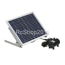 10W High Power LED Solar Light with Garden Landscape Fountain Water Pump US