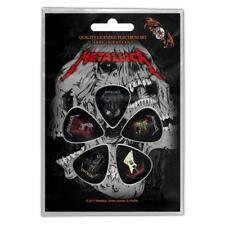 Official Licensed - Metallica - Guitars 5 Guitar Plectrum/Picks Pack Metal