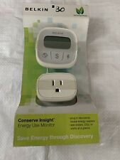 Belkin Conserve Insight Energy Electricity Device Use Monitor F7C005