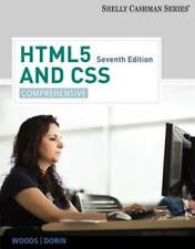 HTML5 and CSS: Comprehensive - Paperback By Woods, Denise M. - GOOD
