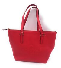 Kate Spade Larchmont Avenue Penny Leather Tote MSRP $398 (Hot Chili)