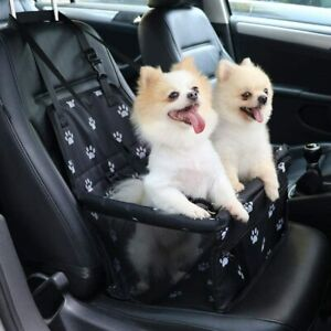 Pet Reinforce Car Booster Seat for Dog Cat Portable and Breathable