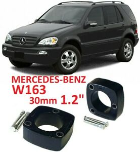 "Lift Kit for Mercedes-Benz M klasse 30mm 1.2"" W163 rear strut spacers leveling"