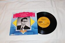 Roy Orbison Import 45 & Picture Sleeve-ONLY THE LONELY/BLUE ANGEL STEREO REISSUE
