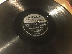 CHUCK BERRY ROCK AND ROLL MUSIC RECORD 78 rpm