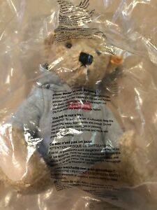 New Supreme FW18 Steiff Teddy Bear Box logo Hooded Sweatshirt 100 Authentic Vhtf