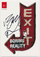 Van Ray - hand signed Autograph Autogramm auf Kunstkarte - Boring Reality
