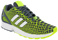Adidas ZX FLUX TECHFIT ZAPATILLAS DEPORTE RUNNING Malla Gris Hombre Tacón Jaula
