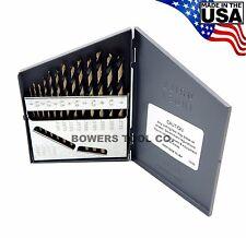 Norseman 13pc Metric HI-Molybdenum M7 Drill Bit Set 1-7mm MADE IN USA SP-13M