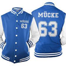 Herren College Baseball Jacke Mücke 63 Buddy Hill Old School Film S-XXL MK1016CJ
