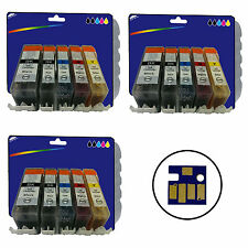 3 Sets of Compatible Printer Ink Cartridges for Canon Pixma iP3600 [520/521]