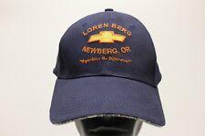 LOREN BERG CHEVROLET NEWBERG, OREGON - ONE SIZE ADJUSTABLE BALL CAP HAT! (CHEVY)