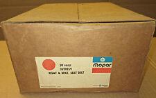 50 pieces NOS Mopar 1972 1973 B-body seat belt/low fuel relays 3620859 GTX, R/T