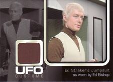 UFO TV Series Rare Ed Bishop as Cmdr. Ed Straker UC002 Costume Card