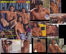 PLAYGIRL 5-97 MAY 1997 HAIRY TRUCKERS SCOTT MATTRAN WOODY HARRELSON HAIRY HUNKS
