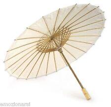 ombrello sposa MATRIMONIO parasole carta bianco ombrellino wedding cinese teatro