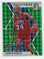 2019-20 Charles Barkley Panini Mosaic #282 Green Hall Of Fame