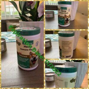 🐶NaturVet Immune Health HEMP Soft Chews 60 Count Dogs Exp. 11/22 🐶