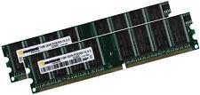 2x 1GB 2GB RAM Speicher Fujitsu Siemens Amilo D 7820