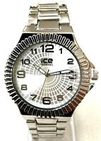 Mens Fashion Watch Ice Master BM1309 Silver Bracelet Band Water Resistant 1 ATM