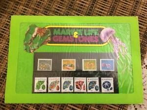 Australia Stamp Pack - Marine Life & Gemstones - Mint