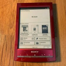 Sony Digital Book Reader Tablet Red PRS-T1
