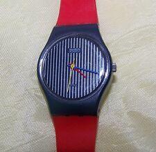 Vintage Swatch Watch S612 RETRO UNISEX Swiss Quartz Plastic L@@K !!