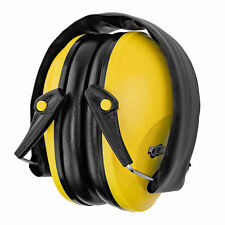 Safety Yellow Industrial Hunting Ear Muff Protection Work Construction 22db NRR
