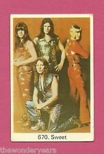The Sweet Brian Connolly #670 Vintage Euro Card
