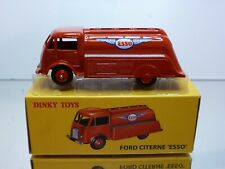 DINKY TOYS ATLAS 25U FORD TANKER TRUCK - CITERNE ESSO - RED- EXCELLENT IN BOX(p)