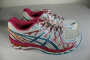 Asics Women's Gel Kayano 20 Running Athletic Shoes Size 9.5 pink T3N7N No insole