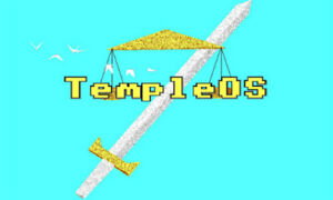TempleOS Live USB created by Terry A. Davis modern x86-64 DOS based