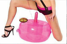 *** POWERFUL VIBRATING SEX STOOL INFLATABLE SEAT ADULT TOY FAST SHIPPING ***