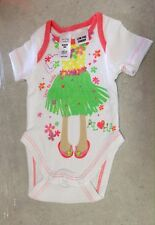 NWT - 0000 - CUTE HULA GIRL BODYSUIT / ROMPERSUIT FOR YOUR BABY GIRL