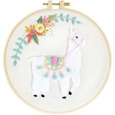 "Fabric Editions Needle Creations 3D Stitch Kits 8"" Llama"