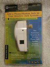 Wireless Phone Modem Jack Extension System S60901 Southwestern Bell NOS