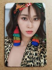 SNSD YURI #1 Official PHOTOCARD THE FIRST SCENE 1st Album Girl's Generation 유리