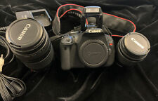 Canon EOS Rebel T3i 18.0MP Digital SLR Camera  EF-S 18-55mm f/3 & EFS 70-300 IIi