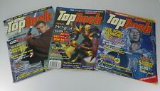 Lot of 3 Top Deck Magazines March & April 2000, January 2001 No Inserts