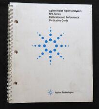 Hewlett Packard Agligent Noise Figure Analyzers Nfa Calibration Performa Manual