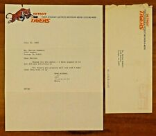 Ernie Harwell Signed Letter with Envelope
