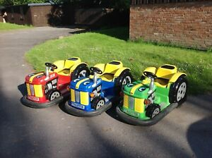Coin operated Ride tractors