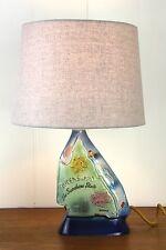 vintage Retro vintage QLD queensland table lamp original bespoke australiana