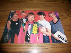 BRAVO - Poster - UKW / Kraftwerk - Rarität der 80-iger -